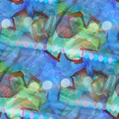 Colorful pattern blue, green water texture paint abstract seamle — Photo