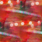Colorful pattern green, red water texture paint abstract seamles — ストック写真