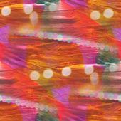 カラフルなパターン水テクスチャ ペイント オレンジ、紫色の抽象的な海 — ストック写真
