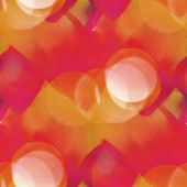 Bokeh colorful pattern water red, yellow texture paint abstract — Stock Photo
