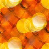 Bokeh colorful pattern water yellow, brown texture paint abstrac — Stock Photo