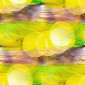 Bokeh colorful yellow, green pattern water texture paint abstrac — Stock Photo