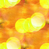 Bokeh yellow colorful pattern water texture paint abstract seaml — Stock Photo