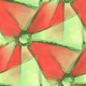 America ancient ornament drawing usa colorful green, red pattern — Stock Photo