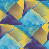 Drawing blue, yellow colorful pattern water texture paint abstra — Foto de Stock