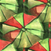 Red, green drawing colorful pattern water texture paint abstract — Foto de Stock