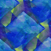 Pattern design seamless watercolor texture background green, blu — Stock Photo