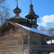 Stock Photo: A wooden church