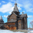 A wooden church — Stock Photo