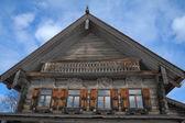 Ahşap bir kilise — Stok fotoğraf