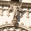 The figures of saints on the Catholic cathedral — Stock Photo #13500617