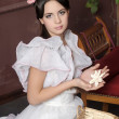 Young victorian lady — Stock Photo #14697145