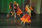 Folkdans visa — Stockfoto