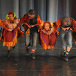 Folk dance show — Stock Photo