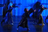 Modern dance performance — Stock Photo