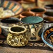 Handmade clay pots — Stock Photo #26609407