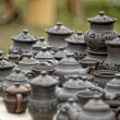 Handmade clay pots — Stock Photo