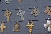 Medieval amulet — Stock Photo