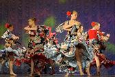 Gypsy dance — Stock Photo
