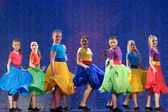 Children's dance group — Stockfoto