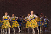 Children's dance group — Foto de Stock