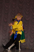 Children's dance group — Foto Stock