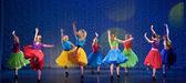Children's dance group — Stock Photo