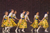 Children's dance group — Stock Photo