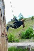 Climber during training — Stock Photo