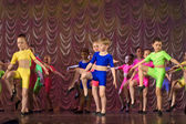 Children dance group — Stock Photo