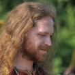 Portrait of a Viking — Stock Photo
