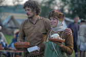 Medieval feast — Stock Photo