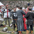 "Stock Photo: Festival of Medieval Culture ""Vyborg Thunder"""