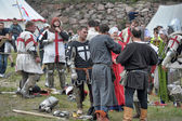 "Festival of Medieval Culture ""Vyborg Thunder"" — Stock Photo"
