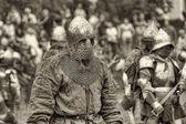 "Festival of Medieval Culture ""Vyborg Thunder"" — Stock Photo"