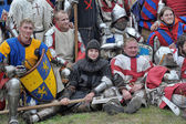 "Festival of Medieval Culture ""Vyborg Thunder"" — 图库照片"