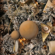 Stock Photo: Christmas background in retro style