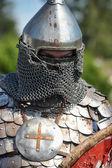Människor på årliga internationella festival för militär historia — Stockfoto