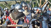 Festival early Middle Ages First Capital of Russia — Stock Photo