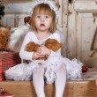 Angelic girl — Stockfoto #38044779