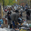 People at Flea Market — Stock Photo
