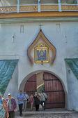 Pskovo-pechersky dormition kloster — Stockfoto