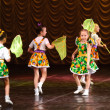 Stock Photo: Children dancing on stage