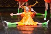 Chicas bailando — Foto de Stock