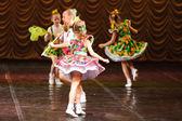 Girls dancing — Stock Photo