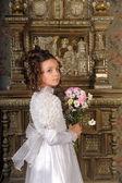 Sztuka portret dziewczynki — Zdjęcie stockowe