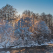 Stock Photo: Winter river
