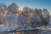 Vintern river — Stockfoto