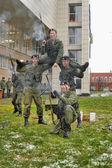 Demonstrations Marines, St. Petersburg, Russia — Stock Photo