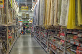 Rolls of wallpaper in the store — ストック写真